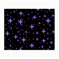 Bright Purple   Stars In Space Small Glasses Cloth by Costasonlineshop