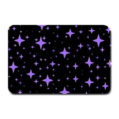Bright Purple   Stars In Space Plate Mats by Costasonlineshop