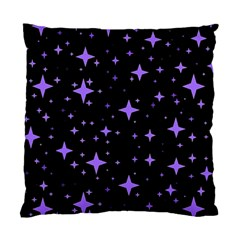 Bright Purple   Stars In Space Standard Cushion Case (two Sides) by Costasonlineshop