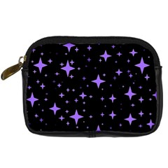 Bright Purple   Stars In Space Digital Camera Cases by Costasonlineshop