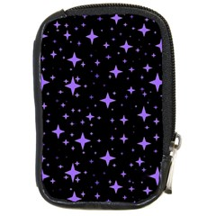 Bright Purple   Stars In Space Compact Camera Cases by Costasonlineshop
