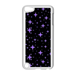 Bright Purple   Stars In Space Apple Ipod Touch 5 Case (white) by Costasonlineshop