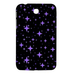 Bright Purple   Stars In Space Samsung Galaxy Tab 3 (7 ) P3200 Hardshell Case  by Costasonlineshop