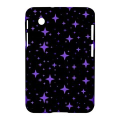 Bright Purple   Stars In Space Samsung Galaxy Tab 2 (7 ) P3100 Hardshell Case  by Costasonlineshop