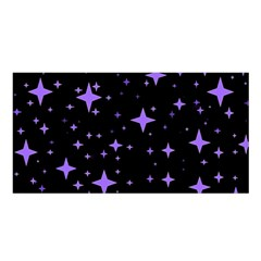 Bright Purple   Stars In Space Satin Shawl by Costasonlineshop