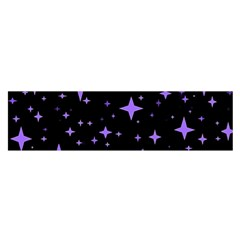 Bright Purple   Stars In Space Satin Scarf (oblong) by Costasonlineshop