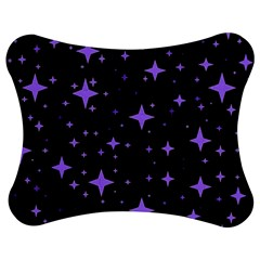 Bright Purple   Stars In Space Jigsaw Puzzle Photo Stand (bow) by Costasonlineshop