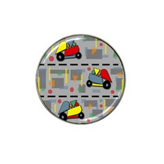 Toy Cars Hat Clip Ball Marker (10 Pack) by Valentinaart