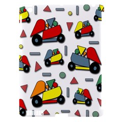 Toy Cars Pattern Apple Ipad 3/4 Hardshell Case (compatible With Smart Cover) by Valentinaart