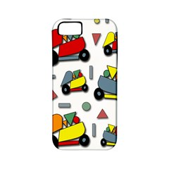 Toy Cars Pattern Apple Iphone 5 Classic Hardshell Case (pc+silicone) by Valentinaart