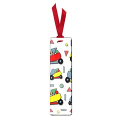 Toy Cars Pattern Small Book Marks by Valentinaart