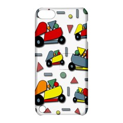 Toy Cars Pattern Apple Ipod Touch 5 Hardshell Case With Stand by Valentinaart