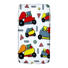 Toy Cars Pattern Galaxy S4 Active by Valentinaart