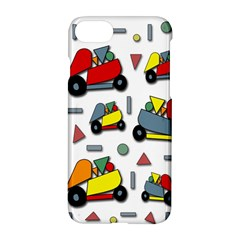 Toy Cars Pattern Apple Iphone 7 Hardshell Case