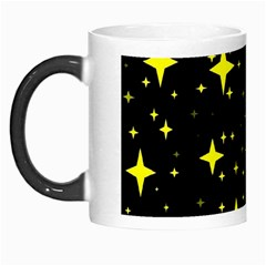 Bright Yellow   Stars In Space Morph Mugs by Costasonlineshop