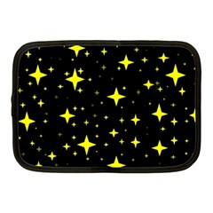 Bright Yellow   Stars In Space Netbook Case (medium)  by Costasonlineshop