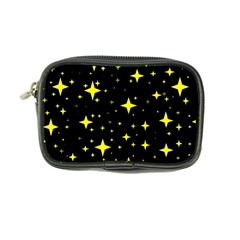 Bright Yellow   Stars In Space Coin Purse by Costasonlineshop