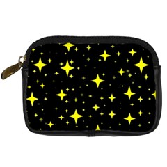 Bright Yellow   Stars In Space Digital Camera Cases by Costasonlineshop