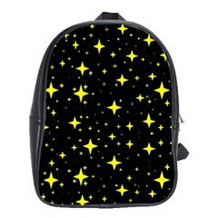 Bright Yellow   Stars In Space School Bags(large)  by Costasonlineshop