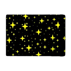 Bright Yellow   Stars In Space Apple Ipad Mini Flip Case by Costasonlineshop