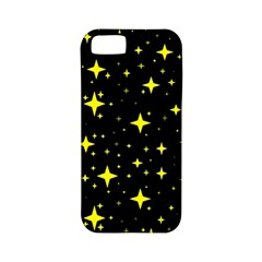 Bright Yellow   Stars In Space Apple Iphone 5 Classic Hardshell Case (pc+silicone) by Costasonlineshop