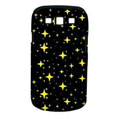 Bright Yellow   Stars In Space Samsung Galaxy S Iii Classic Hardshell Case (pc+silicone) by Costasonlineshop