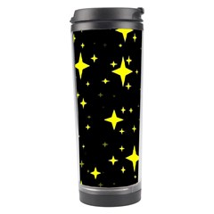 Bright Yellow   Stars In Space Travel Tumbler by Costasonlineshop