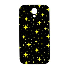 Bright Yellow   Stars In Space Samsung Galaxy S4 I9500/i9505  Hardshell Back Case by Costasonlineshop