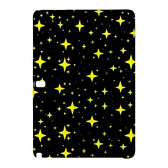 Bright Yellow   Stars In Space Samsung Galaxy Tab Pro 12 2 Hardshell Case by Costasonlineshop