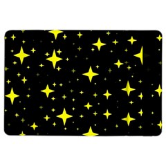 Bright Yellow   Stars In Space Ipad Air 2 Flip by Costasonlineshop