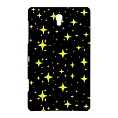 Bright Yellow   Stars In Space Samsung Galaxy Tab S (8 4 ) Hardshell Case  by Costasonlineshop