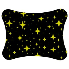 Bright Yellow   Stars In Space Jigsaw Puzzle Photo Stand (bow) by Costasonlineshop