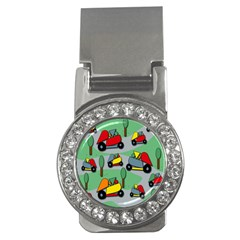 Toy Car Pattern Money Clips (cz)  by Valentinaart