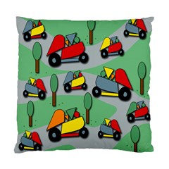 Toy Car Pattern Standard Cushion Case (two Sides)