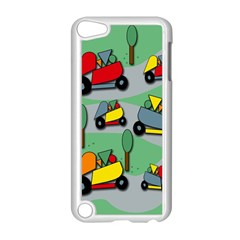 Toy Car Pattern Apple Ipod Touch 5 Case (white) by Valentinaart