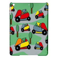 Toy Car Pattern Ipad Air Hardshell Cases by Valentinaart