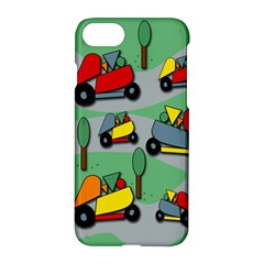 Toy Car Pattern Apple Iphone 7 Hardshell Case