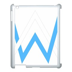 Alan Walker  Logo Apple Ipad 3/4 Case (white) by bhazkaragriz