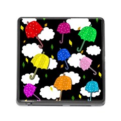 Umbrellas 2 Memory Card Reader (square) by Valentinaart