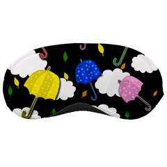 Umbrellas 2 Sleeping Masks by Valentinaart