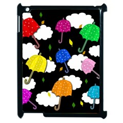 Umbrellas 2 Apple Ipad 2 Case (black) by Valentinaart