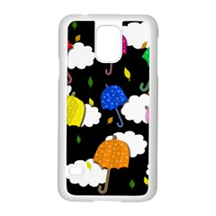 Umbrellas 2 Samsung Galaxy S5 Case (white)