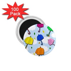 Umbrellas  1 75  Magnets (100 Pack)  by Valentinaart