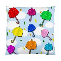 Umbrellas  Standard Cushion Case (two Sides) by Valentinaart