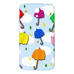 Umbrellas  Samsung Galaxy Mega I9200 Hardshell Back Case by Valentinaart