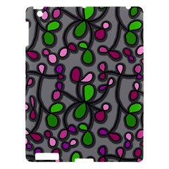 Floral Pattern Apple Ipad 3/4 Hardshell Case by Valentinaart