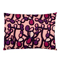 Pink And Purple Pattern Pillow Case (two Sides) by Valentinaart