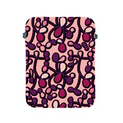 Pink And Purple Pattern Apple Ipad 2/3/4 Protective Soft Cases by Valentinaart