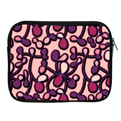 Pink And Purple Pattern Apple Ipad 2/3/4 Zipper Cases by Valentinaart