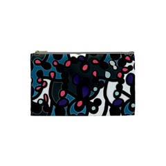 Elegant Pattern Cosmetic Bag (small)  by Valentinaart